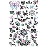 GIRLIE GIRLZ Glow In The Dark Tattoo Sticker [TM 3338-002] - Sticker
